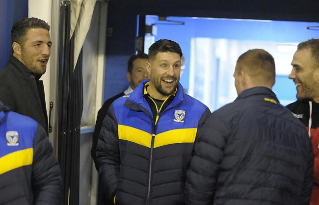 Gareth Widdop could make his Wire debut at Wakefield on Sunday. Picture by Mike Boden