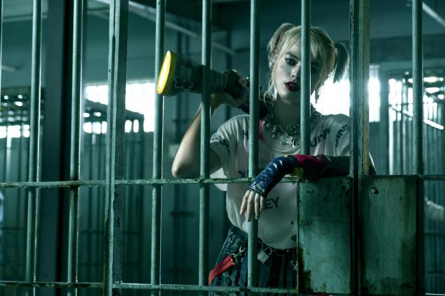 Margot Robbie is Harley Quinn