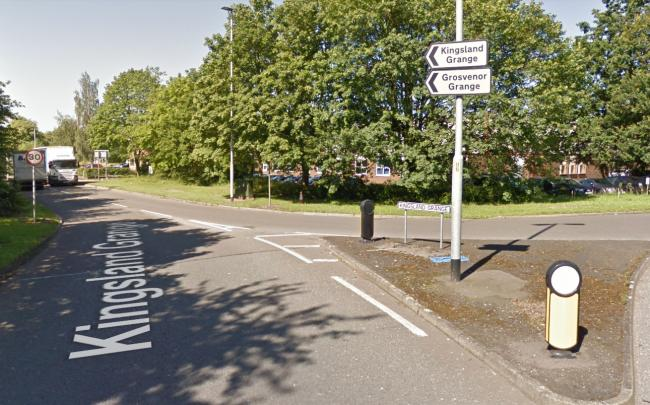 Firefighters were called to Kingsland Grange in Woolston last night. Picture by Google Maps.