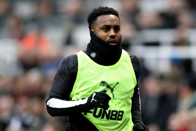 Newcastle's Danny Rose is fighting for his England place