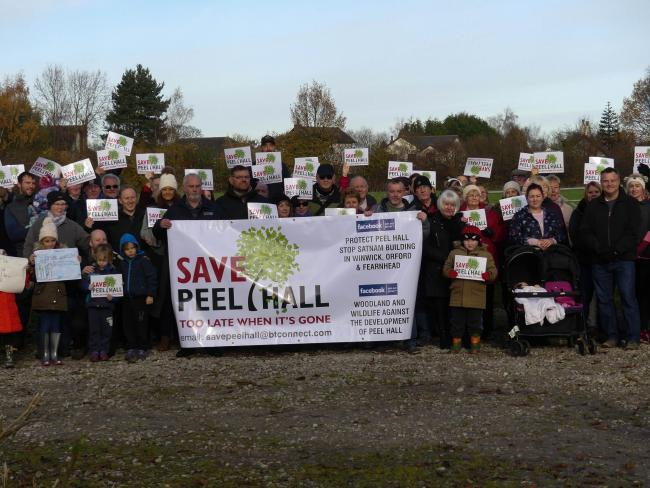 Campaigners battling to protect Peel Hall from development