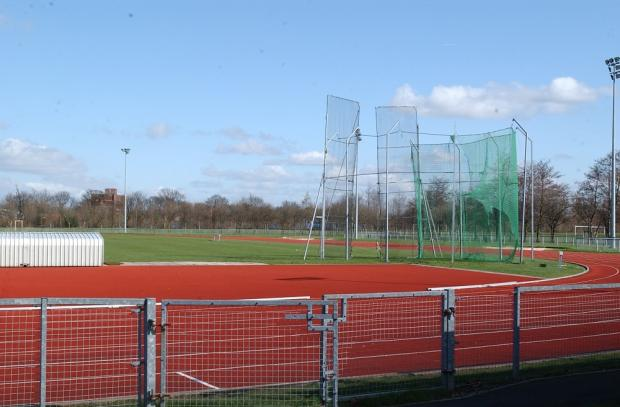 Warrington Guardian: The athletics stadium at Victoria Park