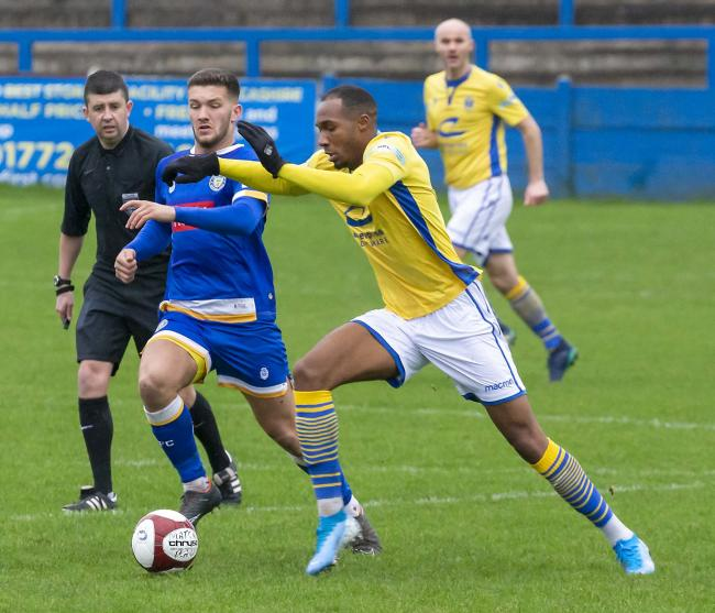 Warrington Town have not played in the league since losing at Lancaster City on February 1. Picture by John Hopkins