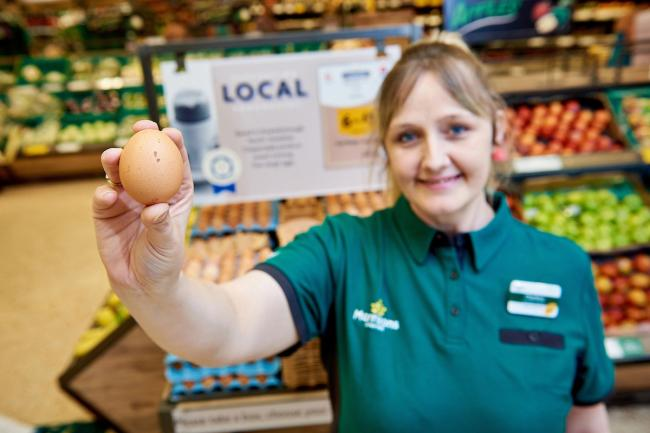 Morrisons has become the first of the big six supermarkets to end the sale of caged eggs and go free-range only in all of its stores