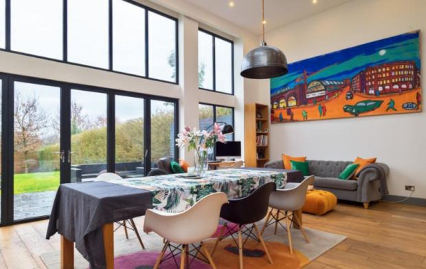 Warrington Guardian: The open living space