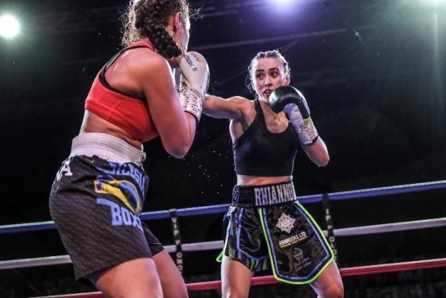 Rhiannon Dixon has won her first two professional fights. Picture by Karen Priestley