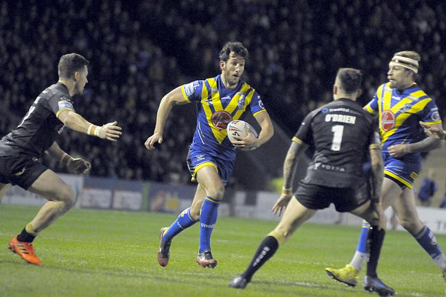 Stefan Ratchford moves to full back for The Wire tonight. Picture by Mike Boden