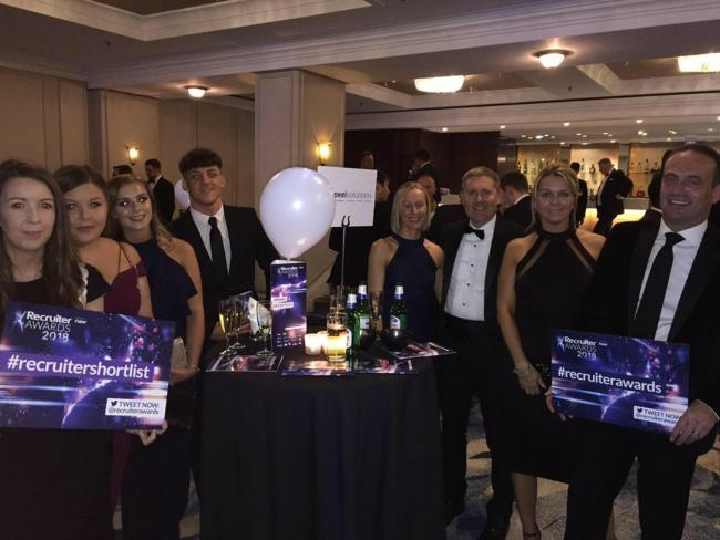 Peel Solutions shortlisted in Recruiter Awards