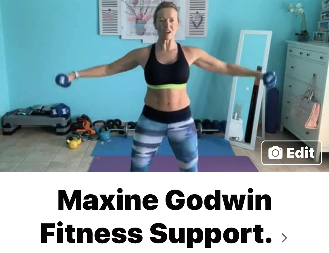 Maxine Godwin  Free Fitness Workouts during lockdown