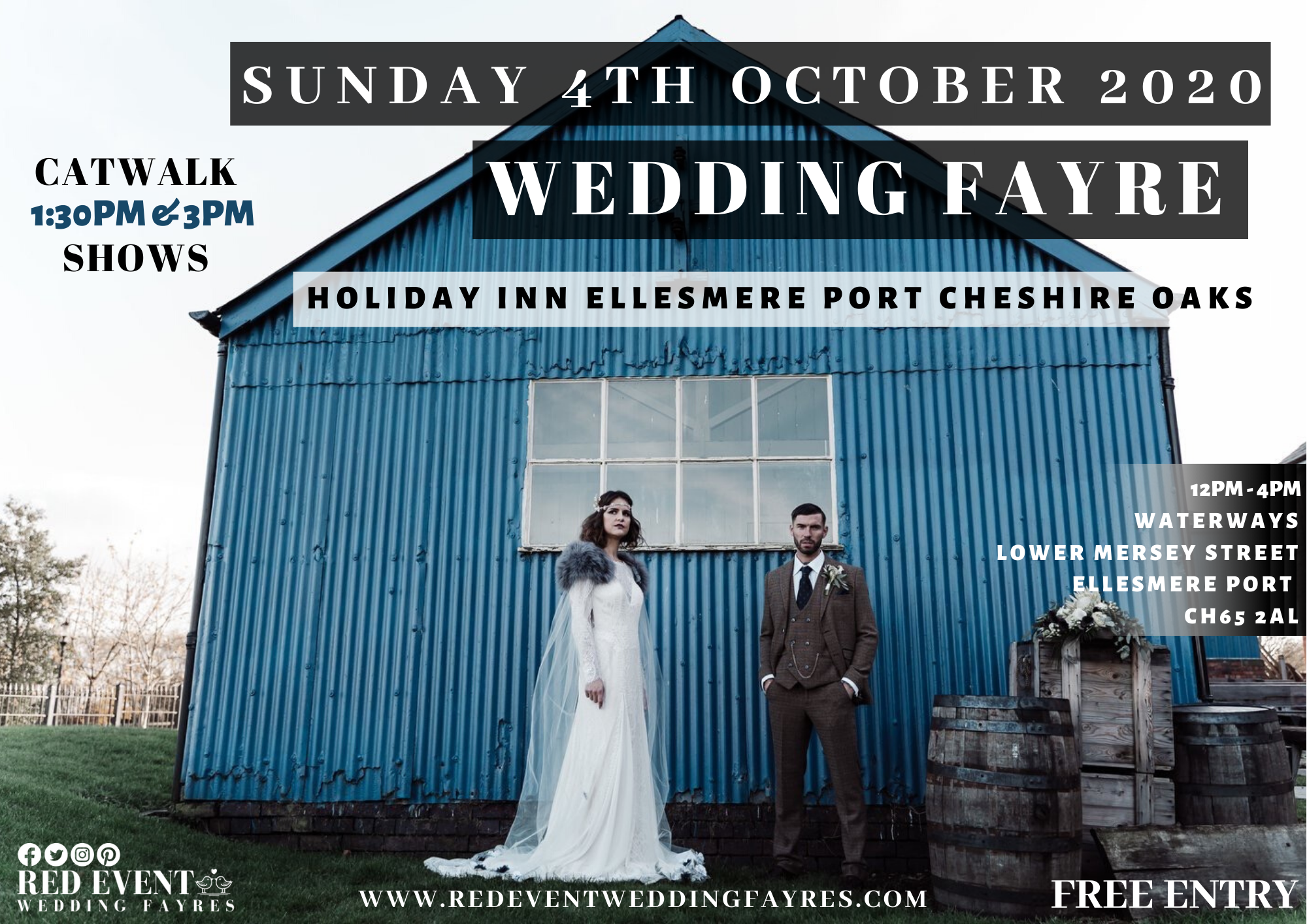Wedding Fayre on the Canal at the Holiday Inn Ellesmere Port