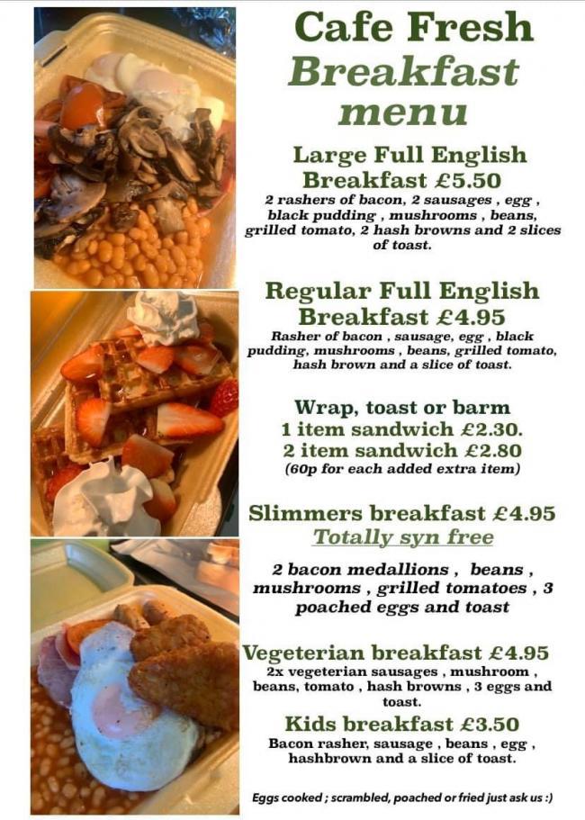 More than 100 takeaways offering food in Warrington