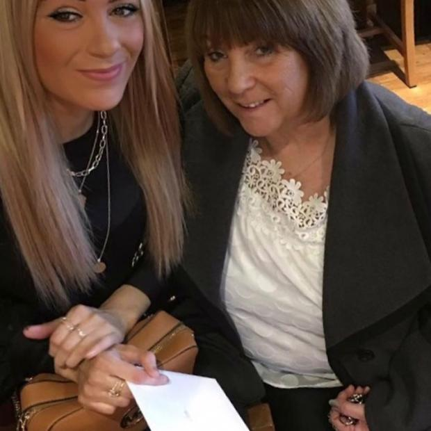Warrington Guardian: Suzanne with her mum Rose