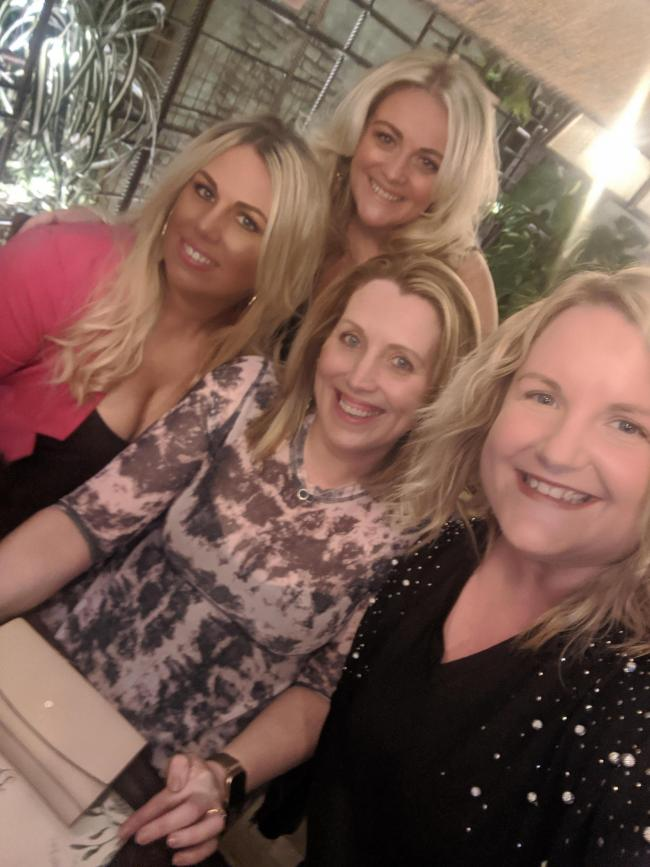 A night out with my gorgeous cousins 8th Feb at the botanist