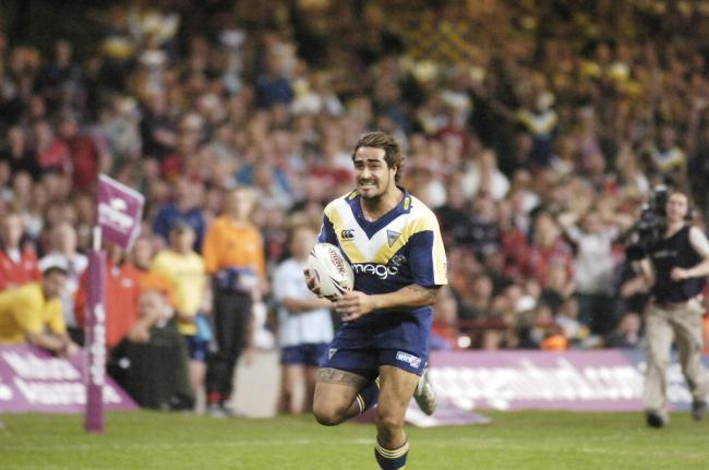 Warrington Wolves v Salford, Magic Weekend at the Millennium Stadium in Cardiff, 2007. Picture: Mike Boden
