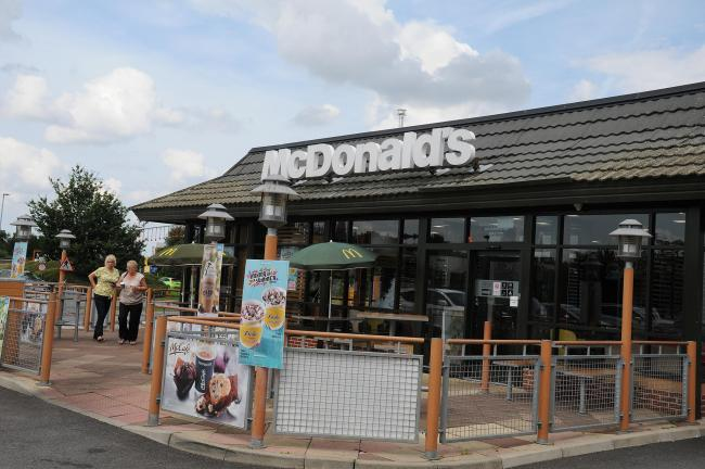 McDonald's drive-thrus in Warrington to open on Wednesday