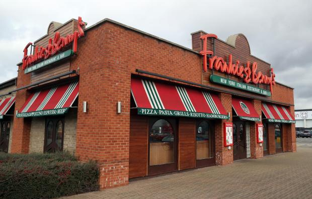 Warrington Guardian: A Frankie & Benny's branch. Picture: PA Wire