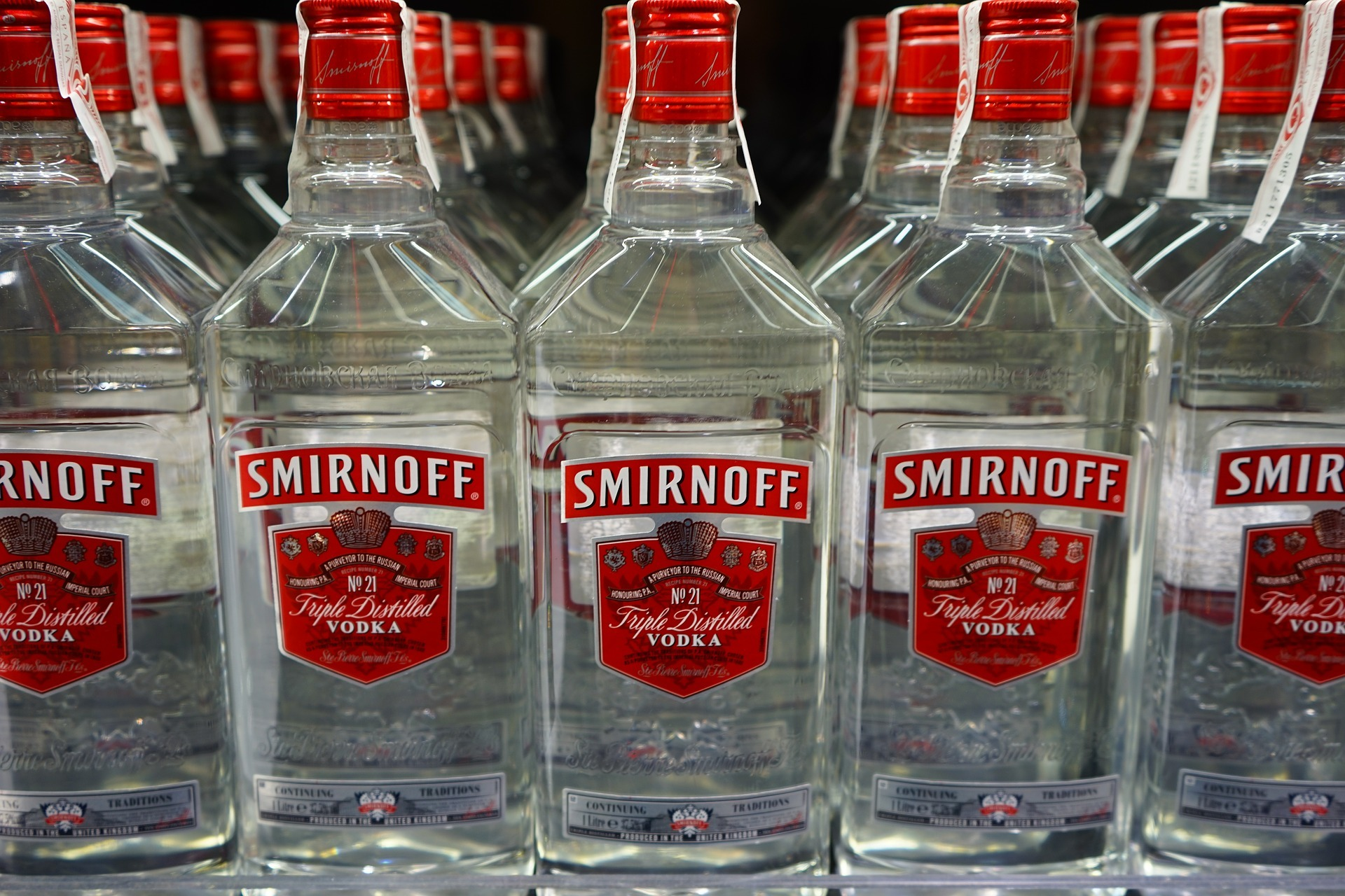 Two arrested on suspicion of stealing large quantity of vodka