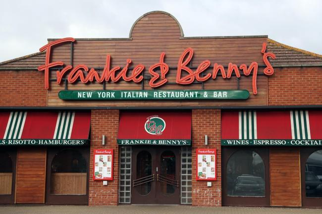 Frankie and Benny's have confirmed which of their restaurants will reopen (Archive photo)