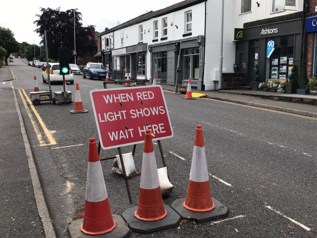 The new traffic lights