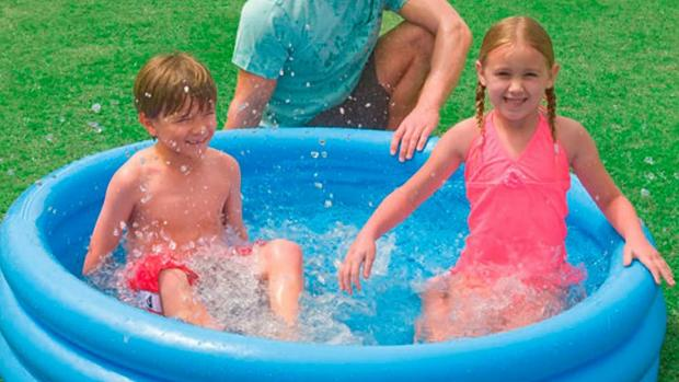 Warrington Guardian: Lower your body temp with this inflatable pool. Credit: Intex