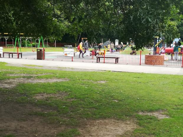 Warrington Guardian: The Children's Playground - Walton Hall and Gardens