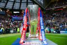 Betfred Super League trophy. Picture: SWpix.com