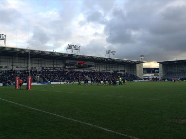 Warrington Wolves' Halliwell Jones Stadium