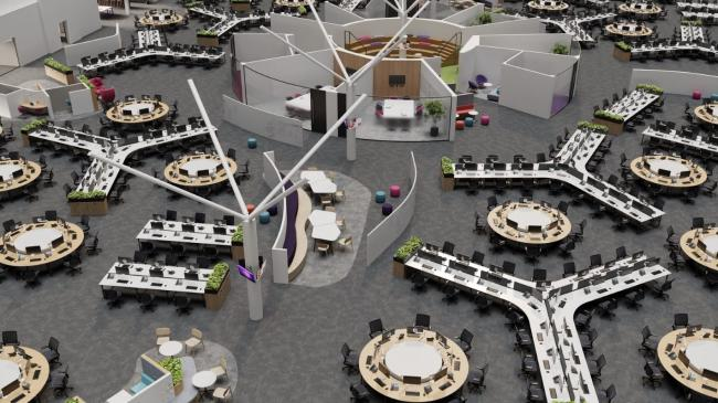 How BT's new offices in Birchwood could look