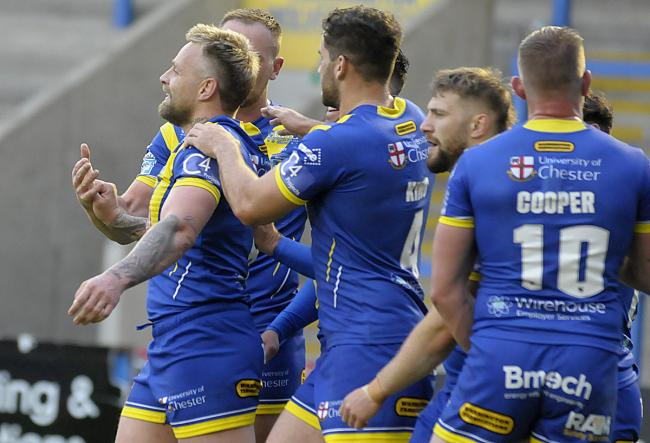 A depleted Warrington Wolves side will take on Hull FC tonight. Picture by Mike Boden