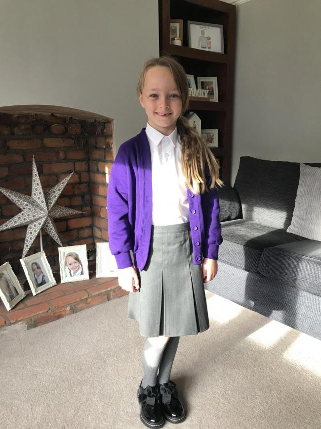 Phoebe Cowell from Sankey Valley St James started year three