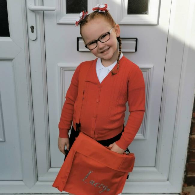 Lacey Rayne Pickering started year one at Penketh South Primary School