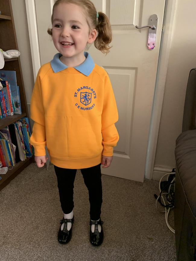 Katie Hands will be joining St Margaret's CE Primary School in nursery