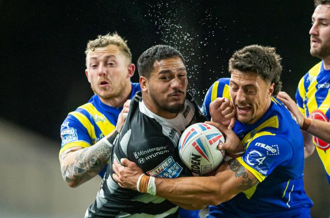 Josh Charnley and Anthony Gelling were among those to react to the changes. Picture by SWPix.com