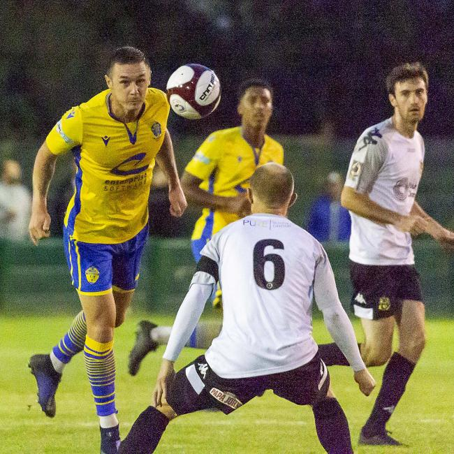 Michael Rose has featured in all of Yellows' pre-season friendlies. Picture by John Hopkins
