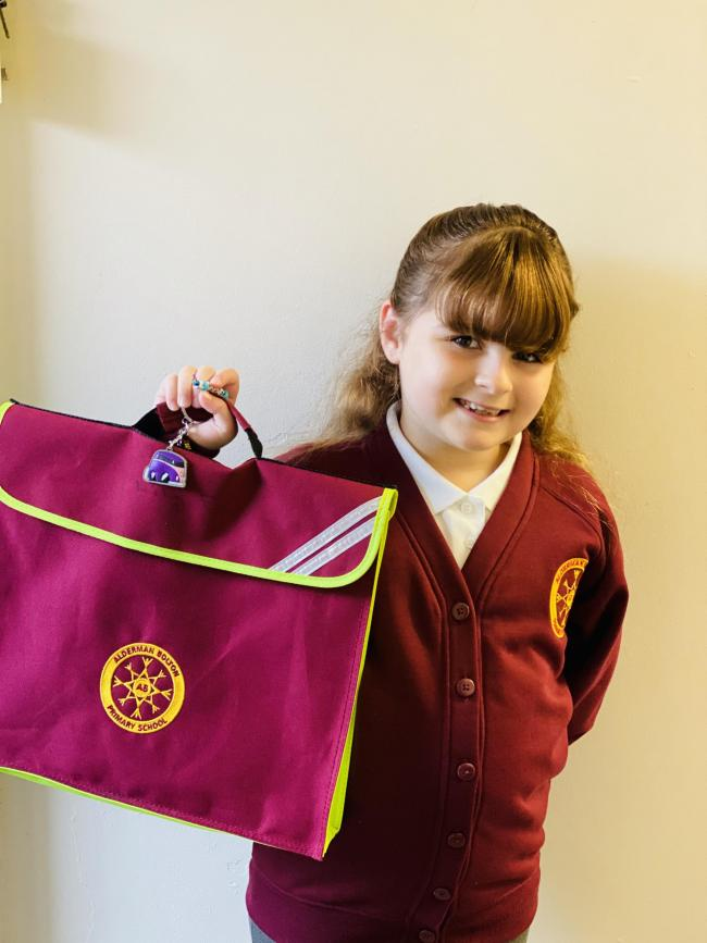 Lily Fairbrother returning to Alderman Bolton Primary School in year four
