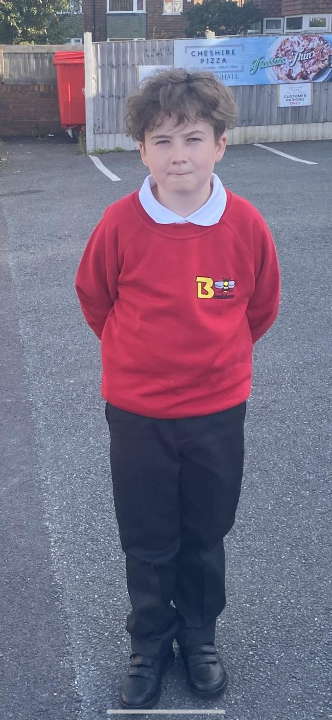 Ellis Heaps is in year six at Bradshaw Primary School
