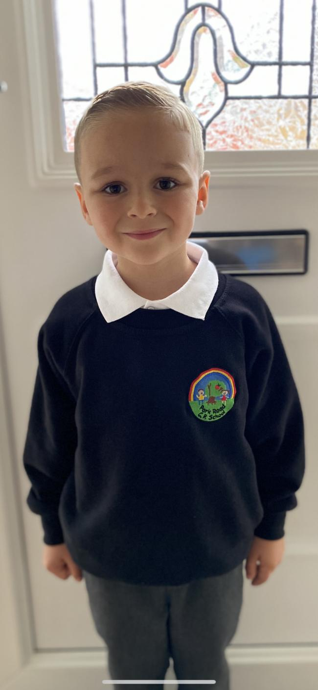 Finley Lowndes, year one at Park Road Primary School