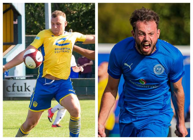 Warrington Town and Warrington Rylands 1906 have been kept apart in the FA Cup first qualifying round. Pictures by John Hopkins and Mark Percy