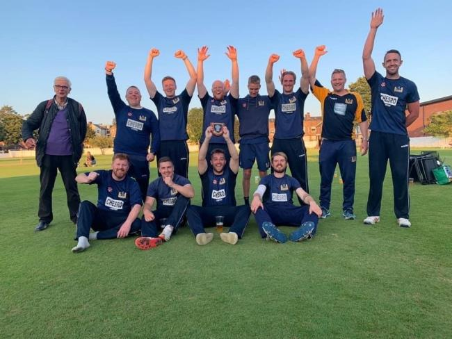 GRAPPENHALL Cricket Club's first team celebrate securing their league title after victory in three of their four T20 matches at the weekend. The seconds completed a superb season for the Broad Lane club by clinching their own title as well. Full story