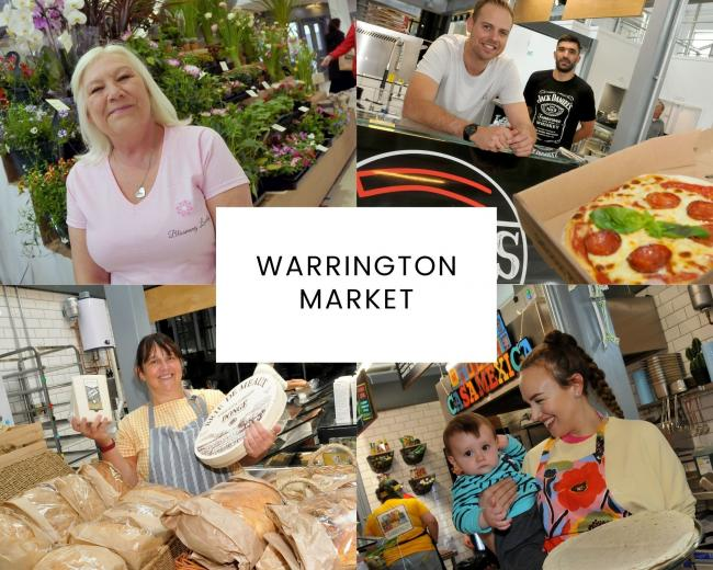 Warrington Market traders