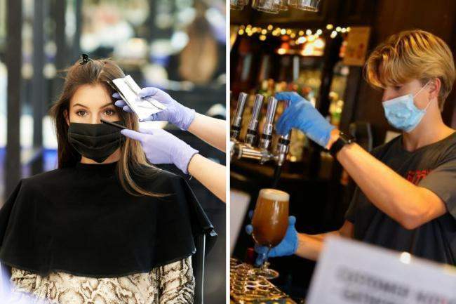 Pubs and salons will have to collect customer details from Friday
