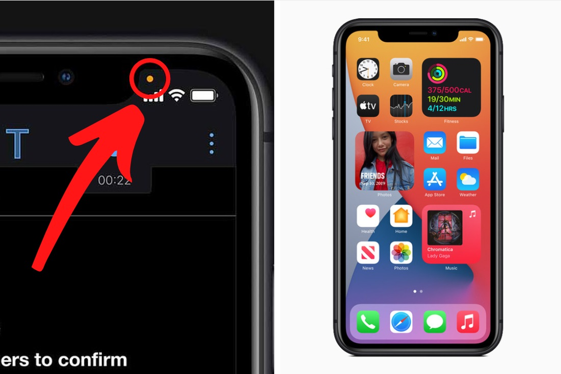 Apple iPhone users warned about 'orange dot' on screen (Here's what it means)