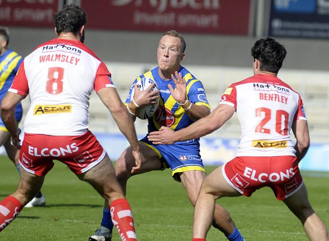 The Wire and neighbours St Helens face off in an enticing-looking August Bank Holiday Monday clash at The Halliwell Jones Stadium. Picture by Mike Boden
