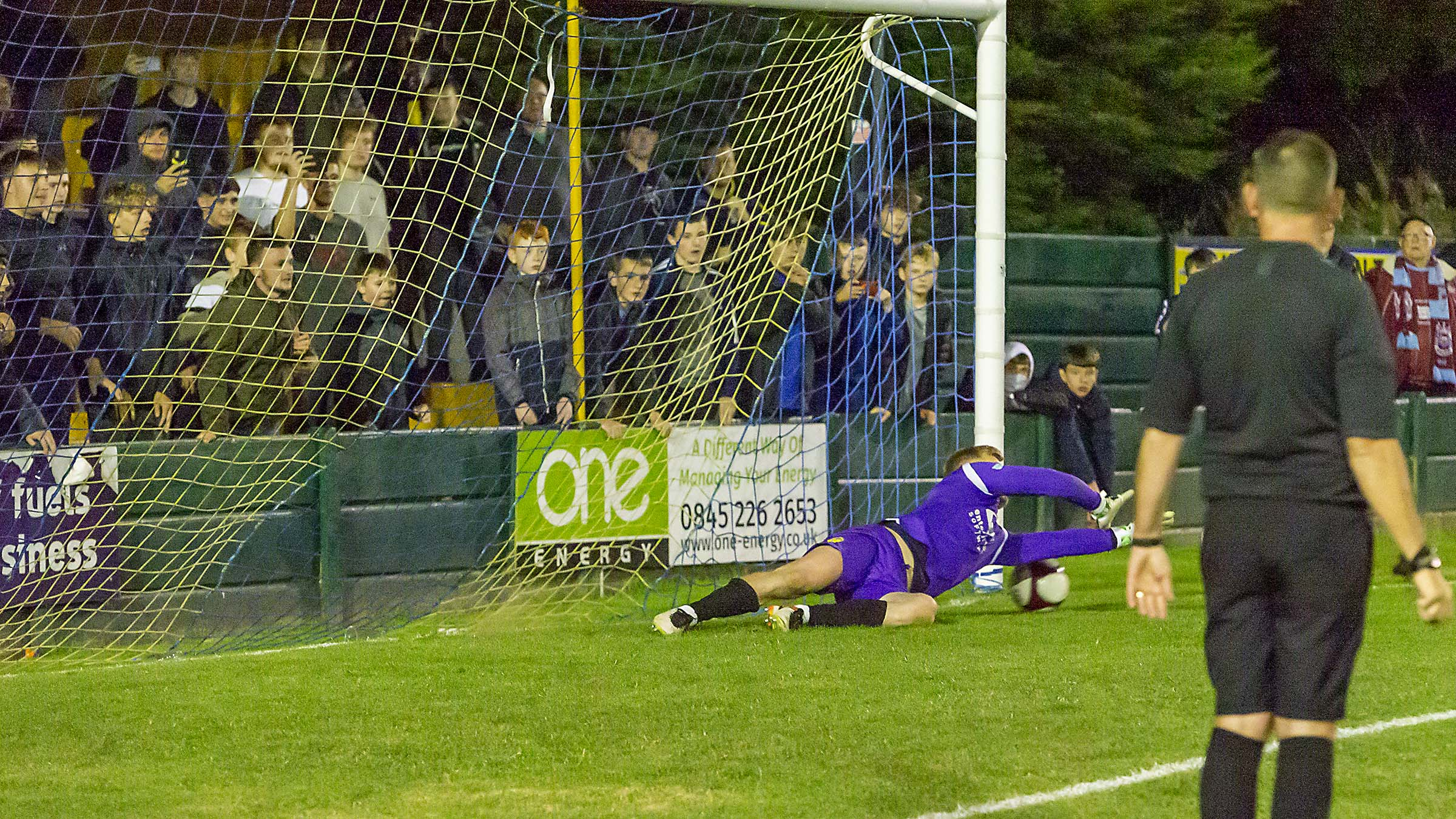 Police investigate fan incident during Warrington Town FA Cup tie