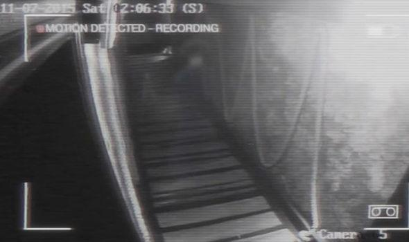 Warrington Guardian: Can you see a spectral figure walking down the corridor? (Photo: Dreamwater Lounge CCTV snapshot)