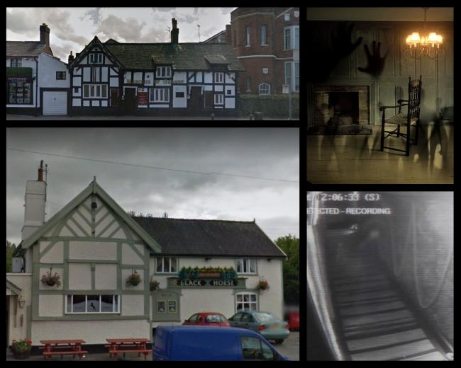 Haunted pubs in Warrington (Credit: Pixabay, Google Maps)