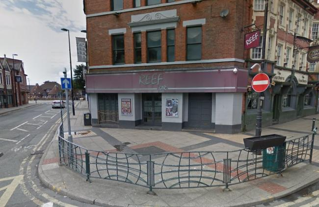 A man lost four teeth after being assaulted outside Reef Barr in Bridge Street (Image: Google Maps)