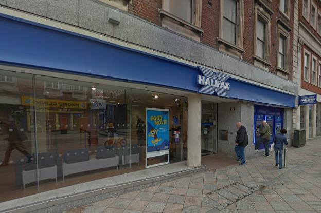 Halifax closes town centre bank after coronavirus case (Image: Google Maps)
