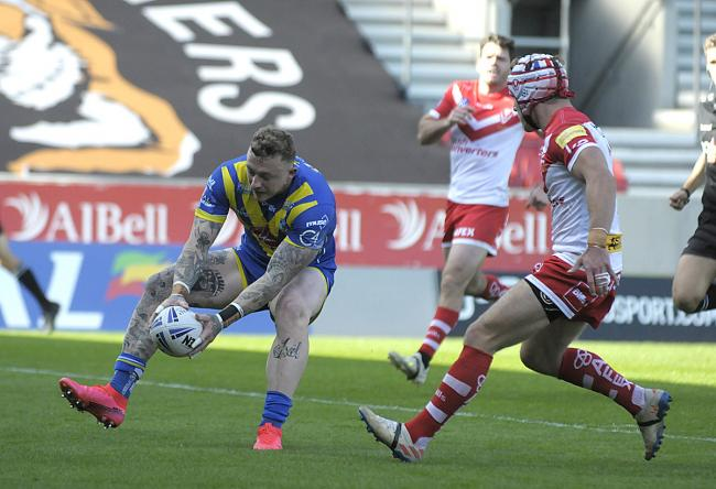 Josh Charnley. Picture by Mike Boden