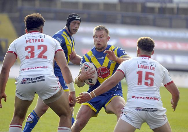 The Wire and Hull KR have already met at Headingley this season, with Warrington running out 40-10 winners. Picture by Mike Boden